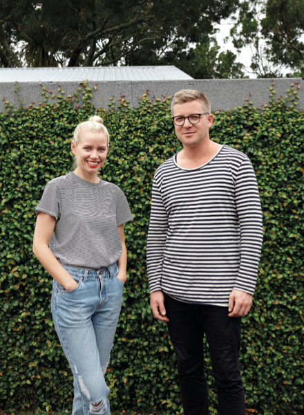 Bridie Picot and Matt Smith of Thing Industries, Photographed by Evie Mackay for Urbis Magazine